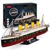 Εικόνα της Cubic Fun - 3D Led Puzzle Titanic 266pcs L521h