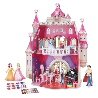 Εικόνα της Cubic Fun - 3D  Puzzle Princess Birthday 95pcs E1622h