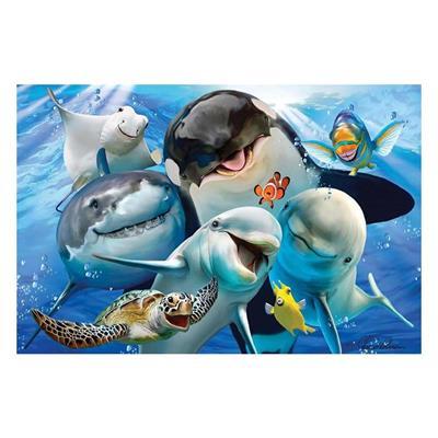 Εικόνα της Prime 3D - 3D Puzzle Ocean Selfie 500pcs