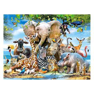 Εικόνα της Prime 3D - 3D Puzzle Africa Smile 48pcs
