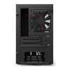 Εικόνα της NZXT H210i Mini-ITX Case with Lighting and Fan control Matte Black-Red CA-H210I-BR