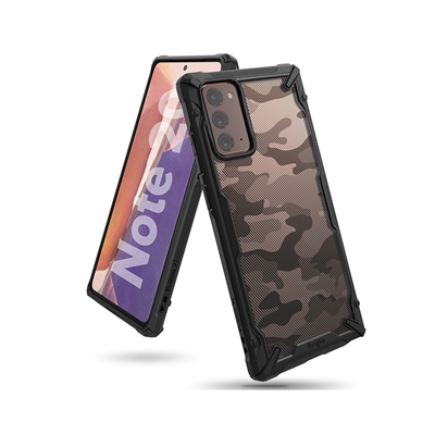 Εικόνα της Ringke Fusion X Galaxy Note 20 Camo Black XDSG0035