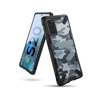Εικόνα της Ringke Fusion X Galaxy S20 Camo Black XDSG0025