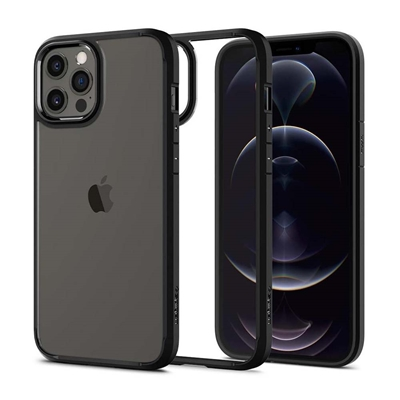 Εικόνα της Θήκη Spigen Ultra Hybrid iPhone 12 Pro Max Matte Black ACS01619