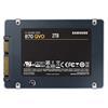 """Εικόνα της Δίσκος SSD Samsung 870 QVO 2.5"""" 2TB Sata III MZ-77Q2T0BW"""