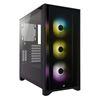 Εικόνα της Corsair 4000X RGB Tempered Glass Black CC-9011204-WW