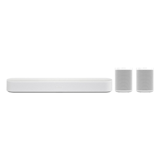 Εικόνα της Sonos 5.0 Surround Set with Sonos Beam & One SL White