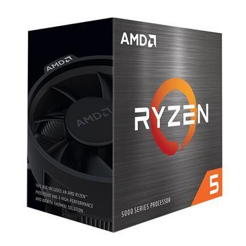 Εικόνα της Επεξεργαστής AMD Ryzen 5 5600X(3.70GHz) 32MB Cache AM4 with Wraith Stealth 100-100000065BOX