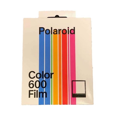 Εικόνα της Polaroid Color Film for 600 - Logo Frame Edition