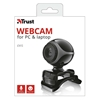 Εικόνα της Webcam Trust Exis Black-Silver 17003