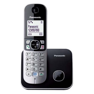 Εικόνα της Ασύρματο Τηλέφωνο Panasonic KX-TG6811GB Black