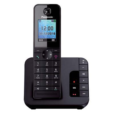 Εικόνα της Ασύρματο Τηλέφωνο Panasonic KX-TGH220 Black