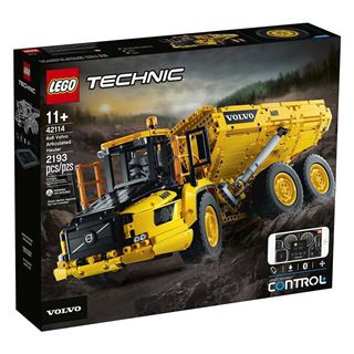 Εικόνα της Lego Technic: 6x6 Volvo Articulated Hauler 42114