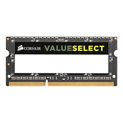 Εικόνα της Ram Corsair ValueSelect 4GB DDR3 1600MHz SODIMM CL11 CMSO4GX3M1A1600C11