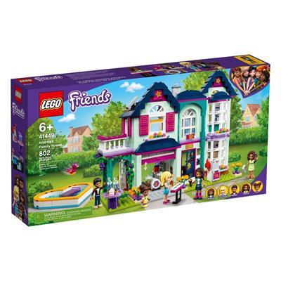 Εικόνα της Lego Friends: Το Οικογενειακό Σπίτι της Άντρεα 41449