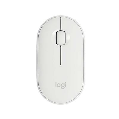 Εικόνα της Ποντίκι Logitech Pebble M350 Wireless Off-White 910-005716