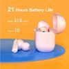 Εικόνα της True Wireless Earbuds QCY T10 Bluetooth 5.0 Dual Driver 4-mic - Quick Charge Black