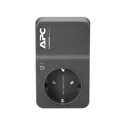 Εικόνα της Πρίζα Ασφαλείας APC Home/Office SurgeArrest 1 Θέσης 230V Black PM1WB-GR