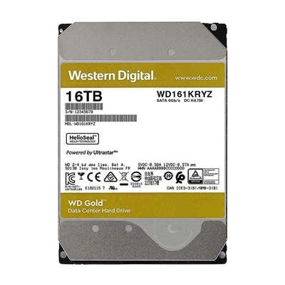 """Εικόνα της Εσωτερικός Σκληρός Δίσκος Western Digital Gold 16TB 3.5"""" 512MB 7200rpm WD161KRYZ"""