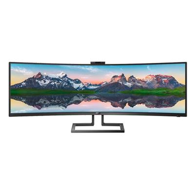 "Εικόνα της Οθόνη Philips Brilliance 48.8"" Led SuperWide QHD Curved VA with Speakers, USB-C and KVM Switch 499P9H"