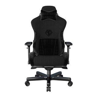 Εικόνα της Gaming Chair Anda Seat T-Pro II Black Fabric with Alcantara Stripes AD12XLLA-01-B-F