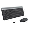 Εικόνα της Πληκτρολόγιο-Ποντίκι Logitech MK470 Wireless Graphite US 920-009204