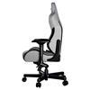 Εικόνα της Gaming Chair Anda Seat T-Pro II Light Grey/Black Fabric with Alcantara Stripes AD12XLLA-01-GB-F