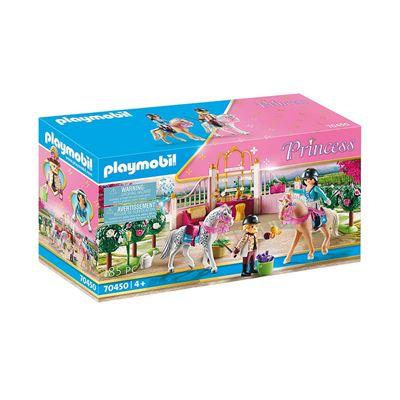 Εικόνα της Playmobil Princess - Μαθήματα Ιππασίας στον Βασιλικό Στάβλο 70450