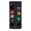 Εικόνα της Πολύπριζο Ασφαλείας 8 Θέσεων Crystal Audio 1300J 70dB Black CP8-1300-70