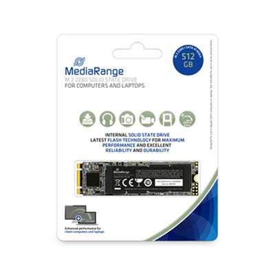 Εικόνα της Δίσκος SSD MediaRange 512GB M.2 2280 SataIII Black MR1023
