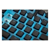 Εικόνα της Ducky Black 108 PBT Double Shot Backlit Keycap Set US Layout 108-USPDAWN02
