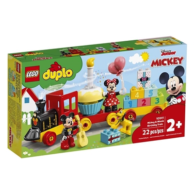 Εικόνα της Lego Duplo: Mickey And Minnie Birthday Train 10941
