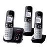Εικόνα της Ασύρματο Τηλέφωνο Panasonic KX-TG6823GB Trio Black