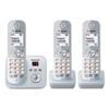 Εικόνα της Ασύρματο Τηλέφωνο Panasonic KX-TG6823GS Trio Pearl Silver
