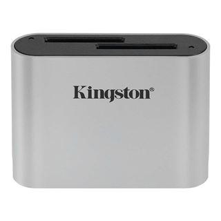 Εικόνα της Kingston Workflow Dual-Slot SD Card Reader USB 3.2 Gen 1 WFS-SD