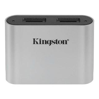 Εικόνα της Kingston Workflow Dual-Slot microSD Card Reader USB 3.2 Gen 1 WFS-SDC