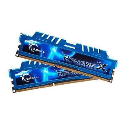 Εικόνα της Ram G.Skill RipjawsX 16GB (2x8GB) DDR3 2400MHz C111 SDRAM Blue F3-2400C11D-16GXM