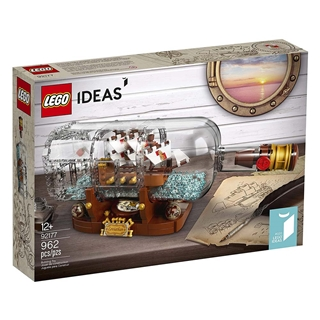 Εικόνα της Lego Ideas: Ship In A Bottle 92177