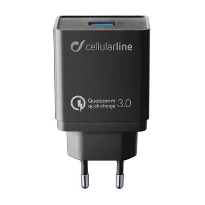 Εικόνα της Cellular Line 18W USB-3.2 Gen1 Fast Charger ACHHUUSBQCK