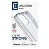 Εικόνα της Θήκη Cellular Line Clear Strong iPhone 12/12 Pro Back Cover Transparent CLEARDUOIPH12MAXT