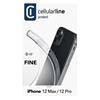 Εικόνα της Θήκη Cellular Line Fine iPhone 12/12 Pro Back Cover Transparent FINECIPH12MAXT