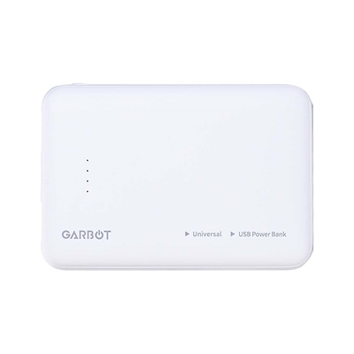 Εικόνα της PowerBank Garbot Grab&Go White 5.000 mAh C-05-10203
