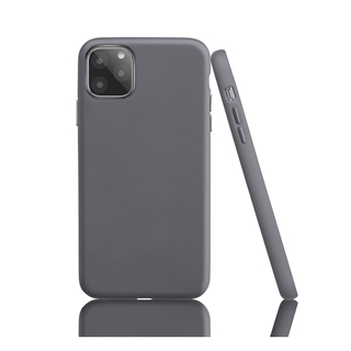 Εικόνα της Θήκη Garbot Corium Nappa Leather iPhone 11 Grey SC-NFE-00013