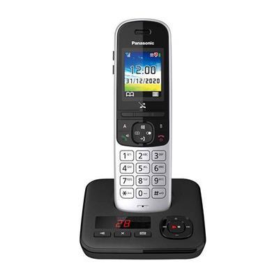 Εικόνα της Ασύρματο Τηλέφωνο Panasonic KX-TGH720GS Black