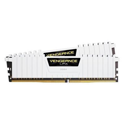 Εικόνα της Ram Corsair Vengeance LPX 32GB (2 x 16GB) DDR4 DIMM 2666MHz CL16 White CMK32GX4M2A2666C16W