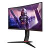 Εικόνα της Οθόνη Gaming Curved AOC 27'' FHD VA 165Hz with Speakers C27G2U/BK