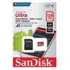 Εικόνα της Κάρτα Μνήμης MicroSDXC Class 10 Sandisk Ultra A1 128GB 120MB/s SDSQUA4-128G-GN6MA