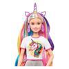 Εικόνα της Barbie - Fantasy Hair Φανταστικά Μαλλιά Ξανθιά Κούκλα GHN04