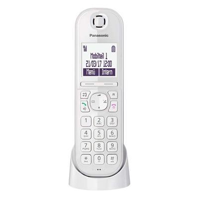 Εικόνα της Ασύρματο Τηλέφωνο Panasonic KX-TGQ200GW White