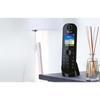 Εικόνα της Ασύρματο Τηλέφωνο Panasonic KX-TGQ400GB Black